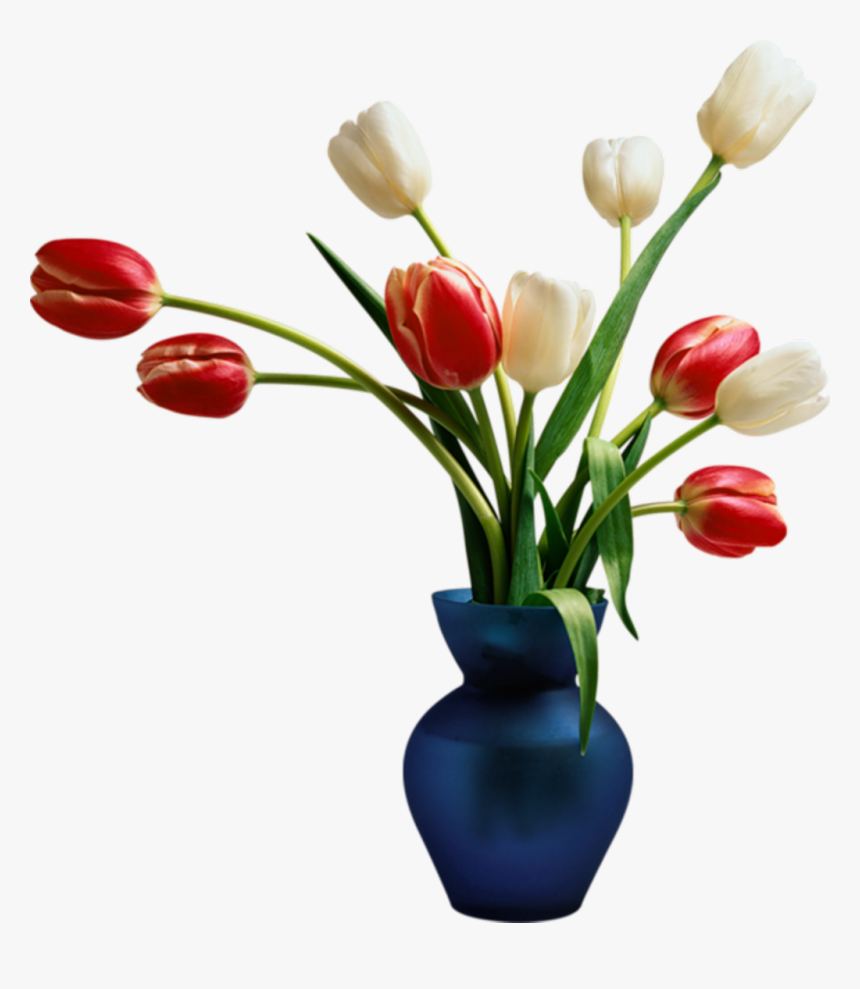 #tulips #tulip #vase #bouquet #flower #flowers #floral - Flower Vase Png Format, Transparent Png, Free Download