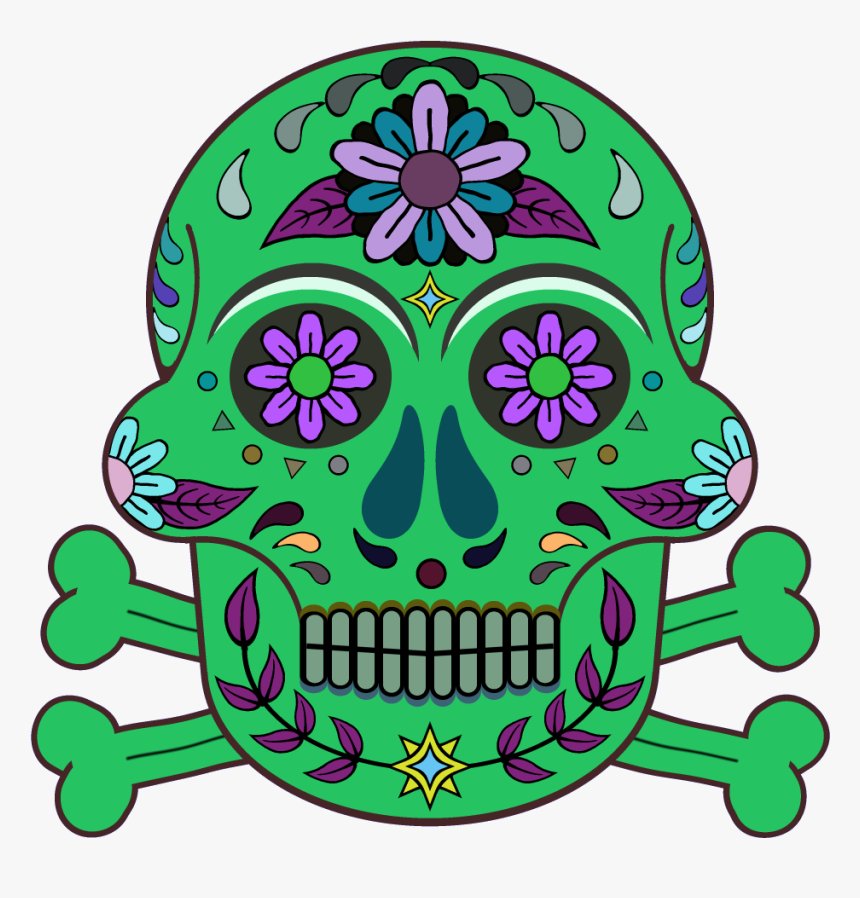 Day Of The Dead 1000 X 1000 Png Transparent - Day Of The Dead, Png Download, Free Download