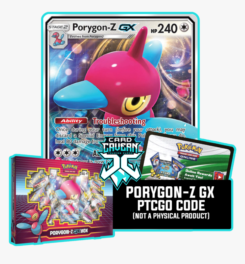 Porygon Z Gx Card, HD Png Download, Free Download