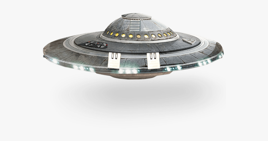 Ufo Spaceship Transparent Png Image - Ufo With Transparent Background, Png Download, Free Download