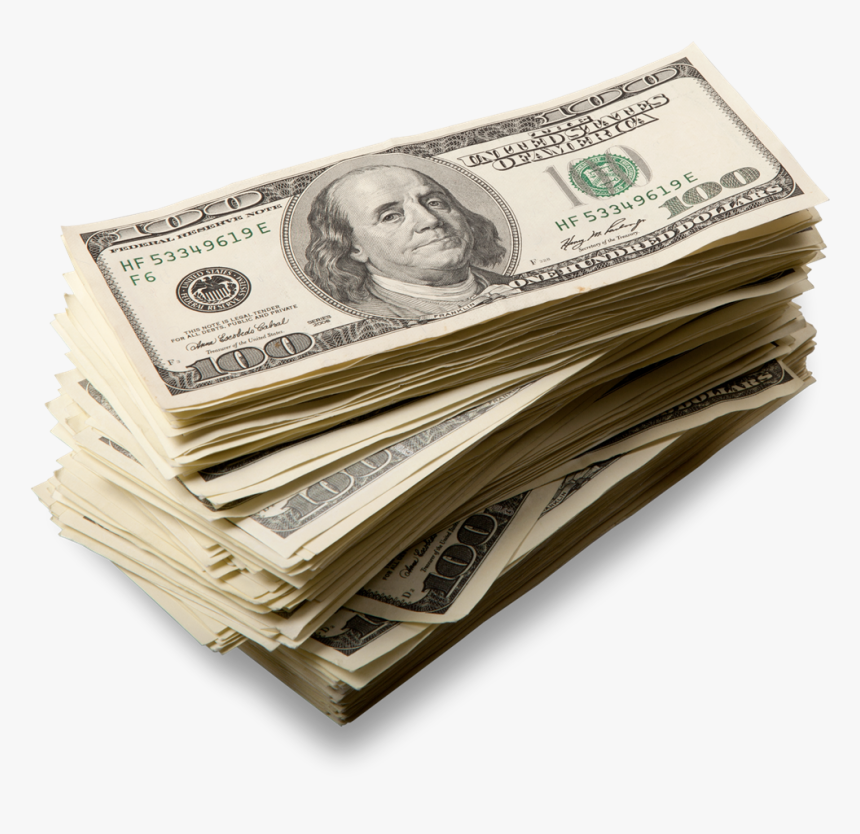 Be Créatif Quality Web Solutions Building Effective, - Stack Of 100 Dollar Bills Png, Transparent Png, Free Download