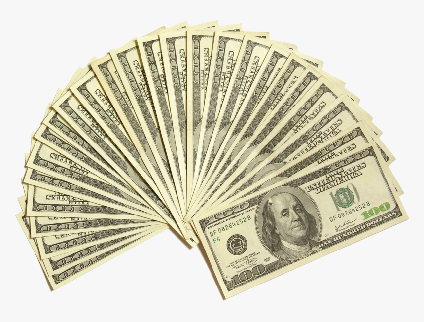 Hd Us Bill Free - 100 Dollar Bill, HD Png Download, Free Download