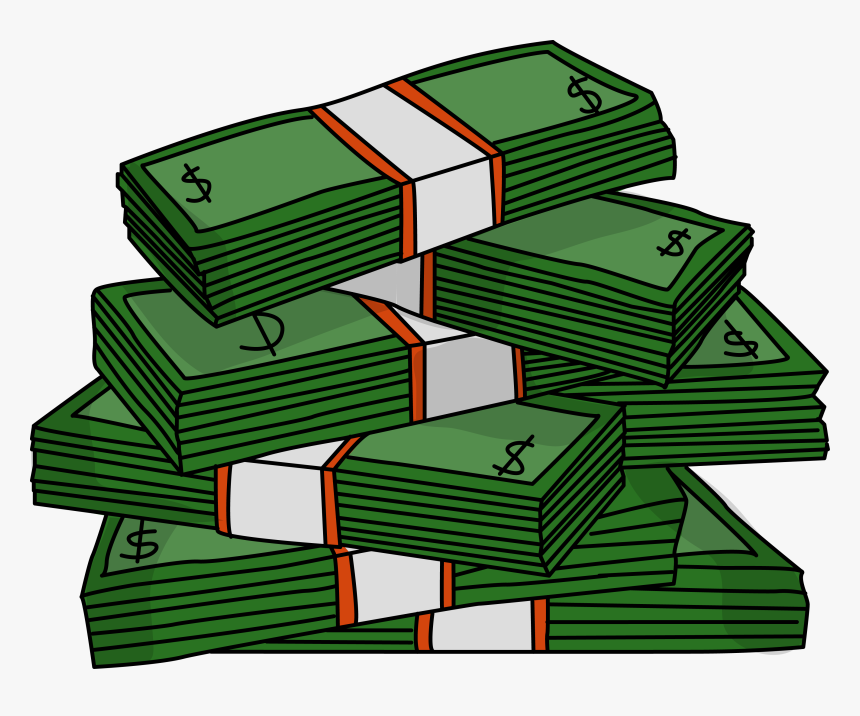Free Images Photos Download Clip Art Bills - Stacks Of Money Clipart, HD Png Download, Free Download