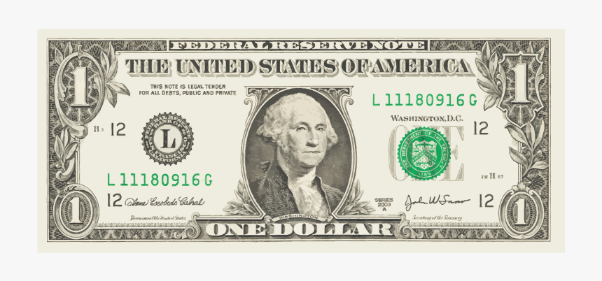 Dollar Bill Transparent Background, HD Png Download, Free Download