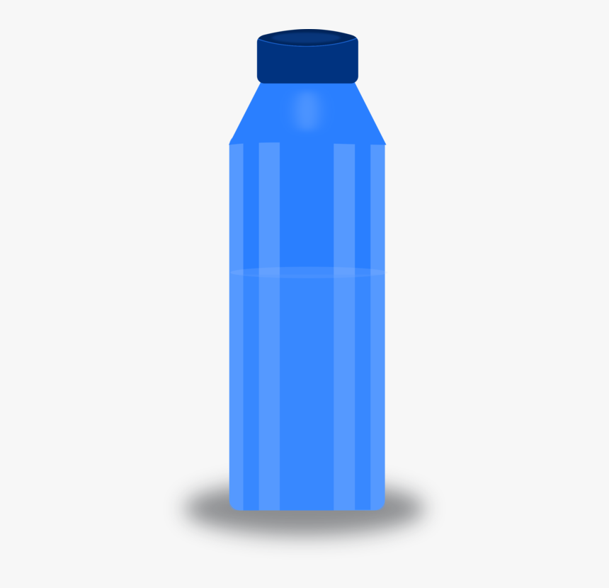 Water,plastic Bottle,water Bottle - Clipart Water Bottle Png, Transparent Png, Free Download