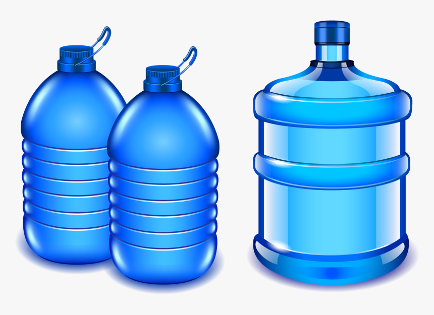 Transparent Water Bottle Clip Art - Clipart Bottle Of Water, HD Png Download, Free Download