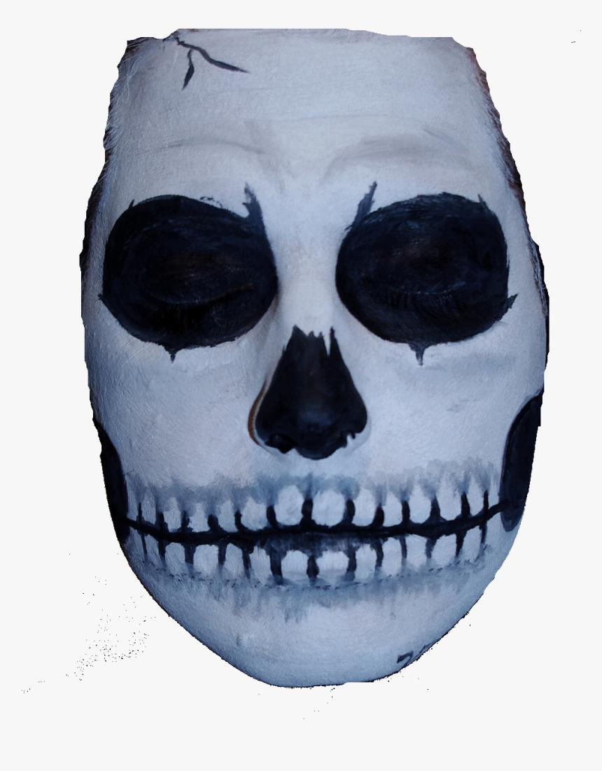 Vl7o6qg - Skull Face Paint Png, Transparent Png, Free Download
