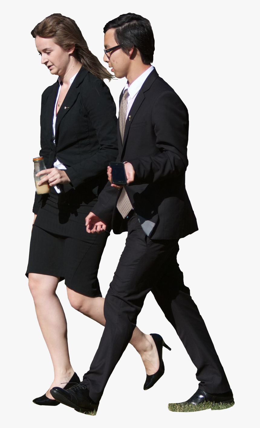 Business People Walking Png, Transparent Png, Free Download