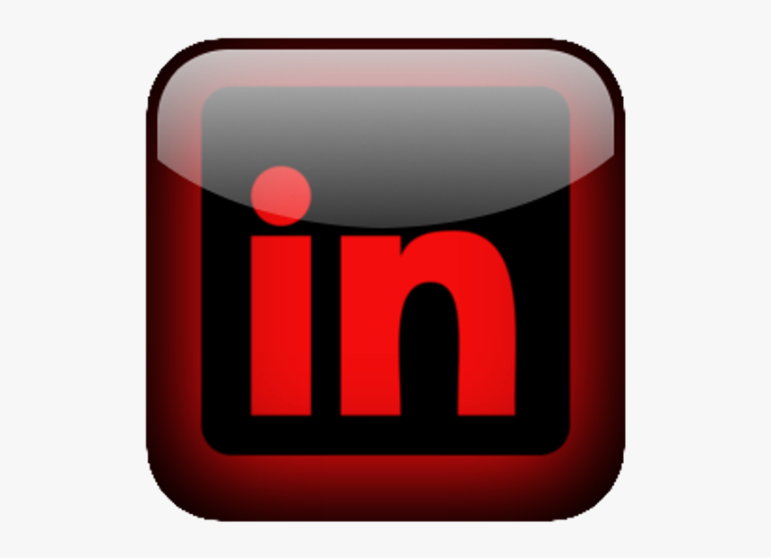 Linkedin Button Business Professional Popular Shine - Graphic Design, HD Png Download, Free Download