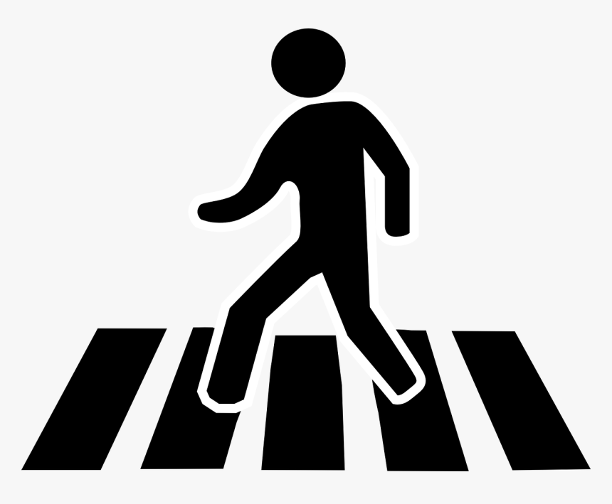 Cross The Street Clipart, HD Png Download, Free Download