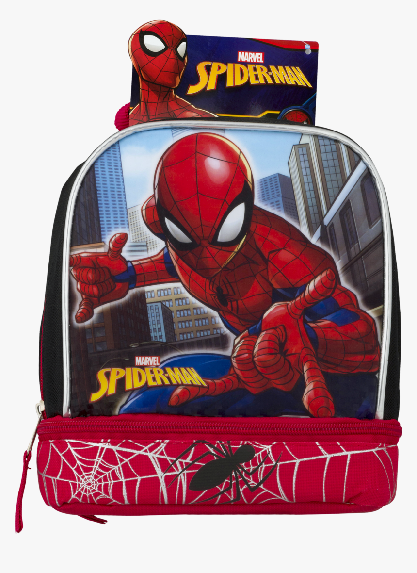Spiderman Lunch Bag, HD Png Download, Free Download