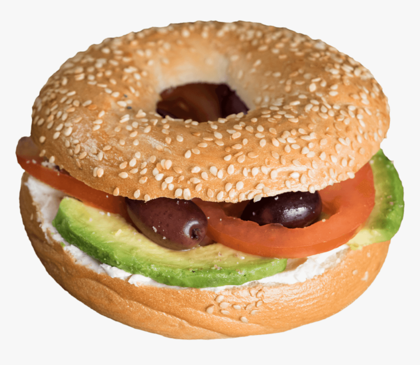 Bagels Cream Cheese Tomato, HD Png Download, Free Download