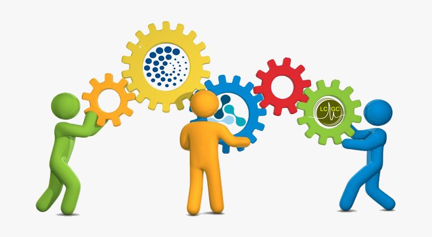 Collaboration Teamwork Organization Management Clip - Teamwork  Collaboration Clipart, HD Png Download - kindpng
