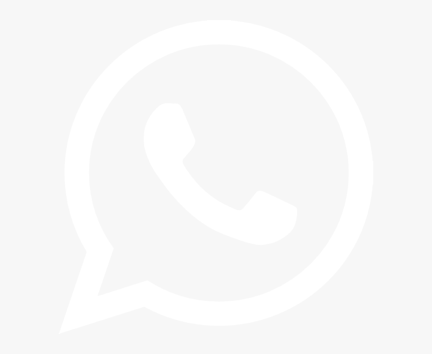 Icon White Black Whatsapp , Png Download - Icon Whatsapp Bw Png, Transparent Png, Free Download