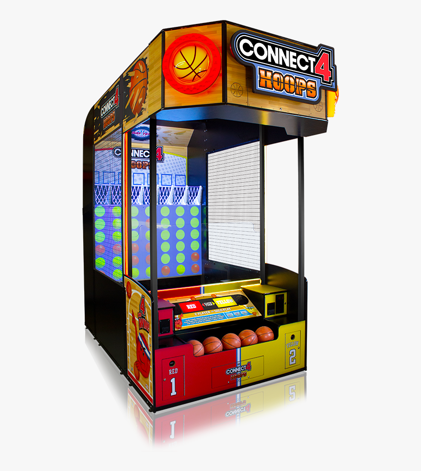 C4 Hoops Production - Connect 4 Hoops Arcade, HD Png Download, Free Download