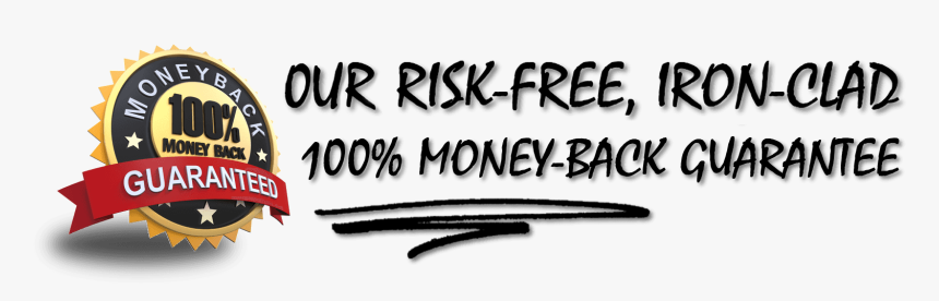 Money Back Guarantee - Calligraphy, HD Png Download, Free Download