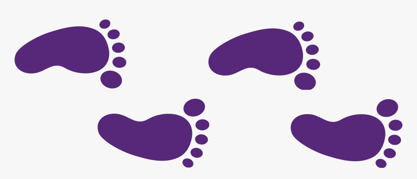 Walking Footprint Clip Art - Step By Step Clip Art, HD Png Download, Free Download