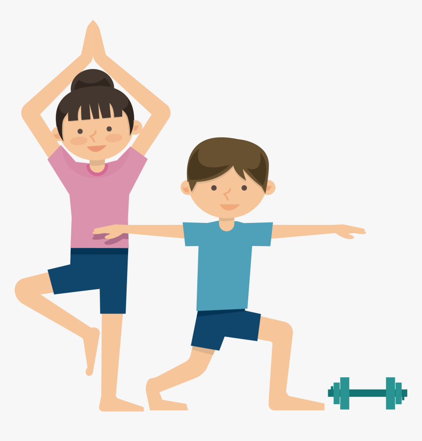 Transparent Exercise Clipart - Physical Health Clipart, HD Png ...