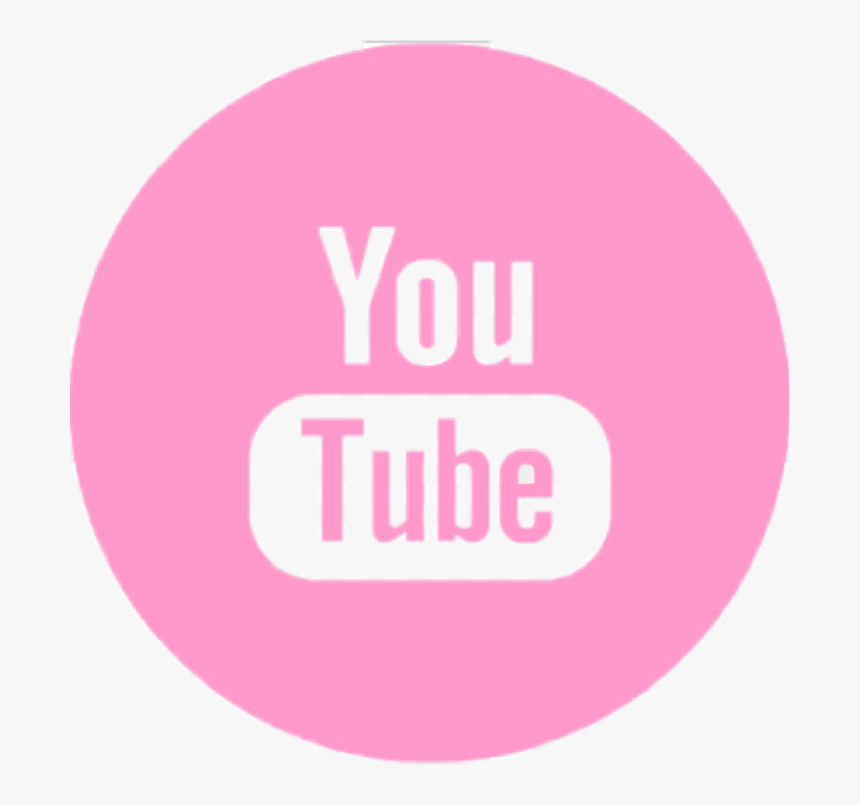 Pink Youtube Icon Png, Transparent Png, Free Download