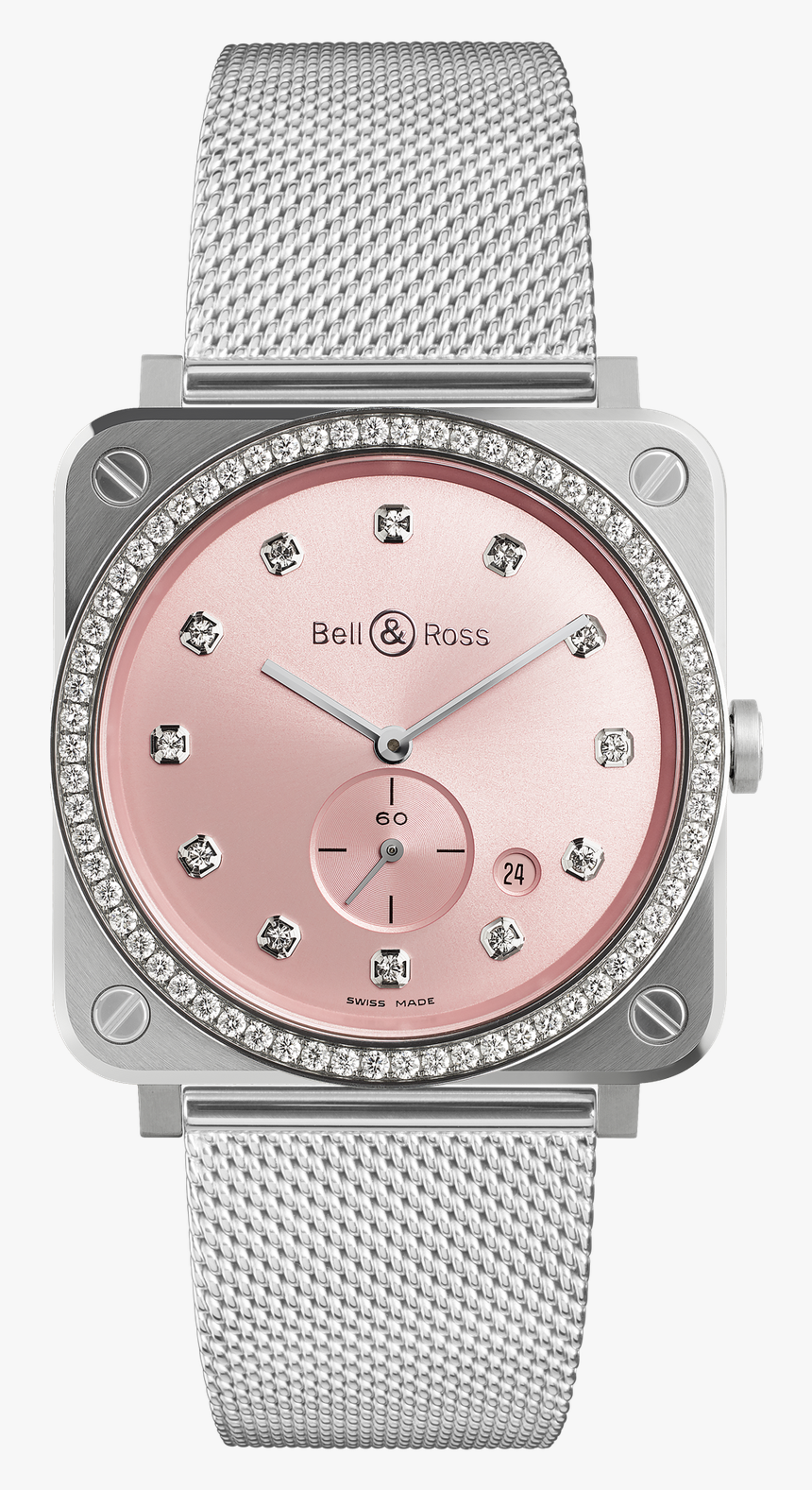 Bell And Ross Pink, HD Png Download, Free Download