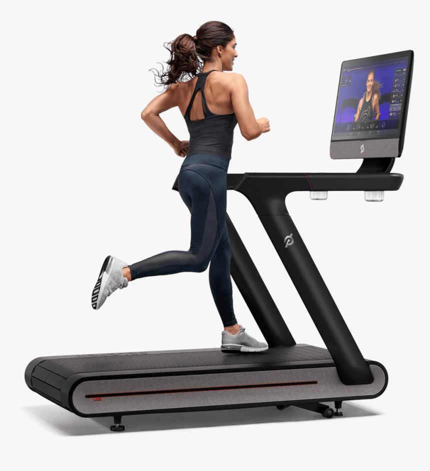 Peloton Basics Package - Peloton Treadmill On Incline, HD Png Download, Free Download