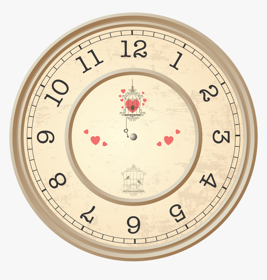 Time Design Model Free Photo - Circle Shape Objects Clipart, HD Png Download, Free Download