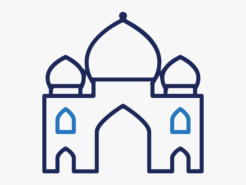 Islamic Buildings Outlines, HD Png Download, Free Download
