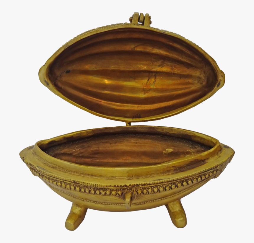 Brass Betel Leaf Box, 9 X 5 Inch, Vgo Cart,9x5inch,handmade - Antique, HD Png Download, Free Download