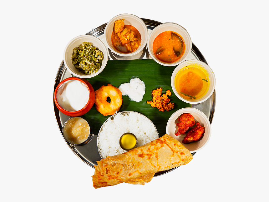 Indian Meals Food Top View Png, Transparent Png, Free Download