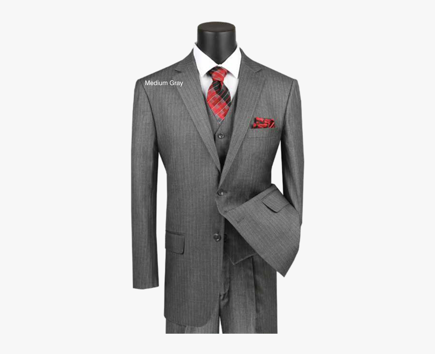 Single Breasted Suits - Men's Suits Pinstriped, HD Png Download, Free Download