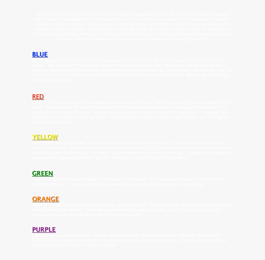 Choosing Colors For Your Home Can Be Intimidating, - Best Of Rock The 50, HD Png Download, Free Download