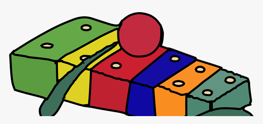 Xylophone Cartoon Png, Transparent Png, Free Download
