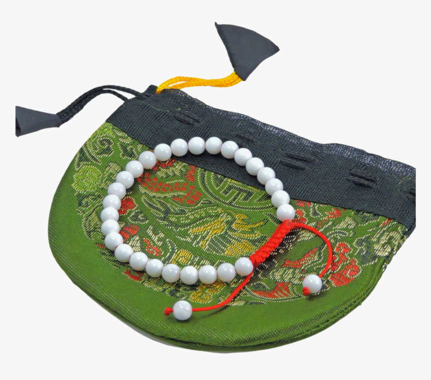 Small Conch Shell Wrist Mala Yoga Bracelet - Christmas Decoration, HD Png Download, Free Download