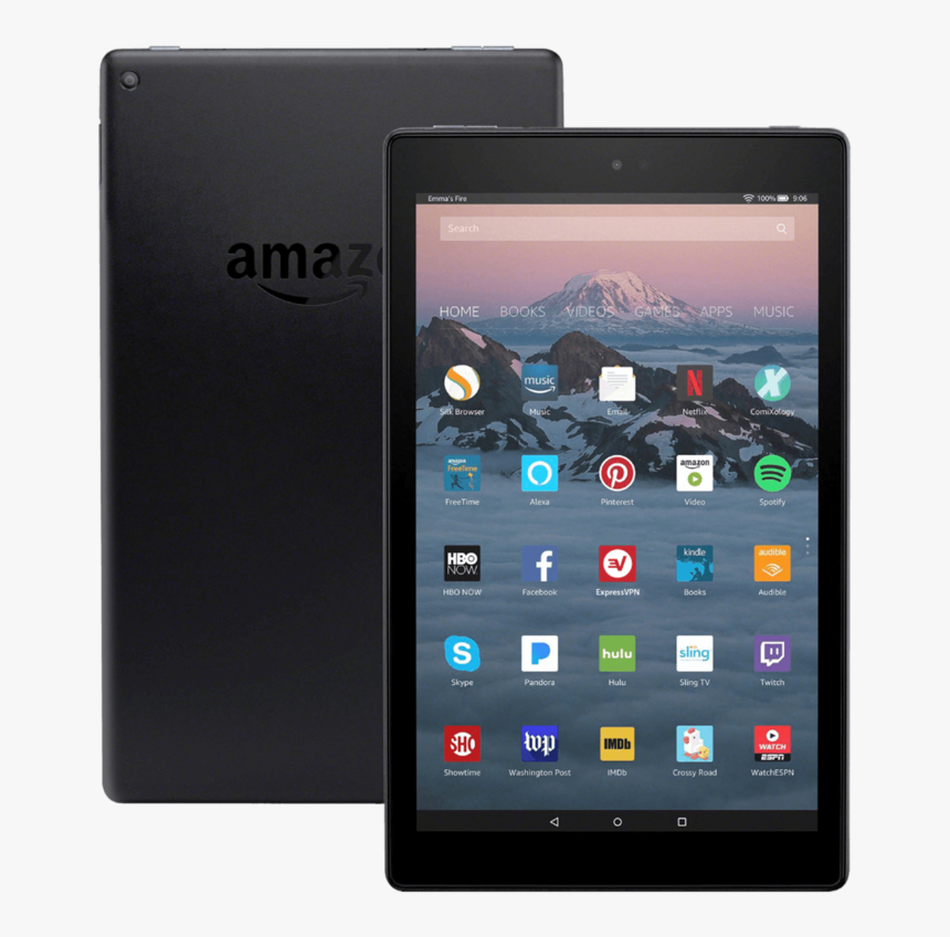 Amazon Fire Hd 10 Red, HD Png Download, Free Download