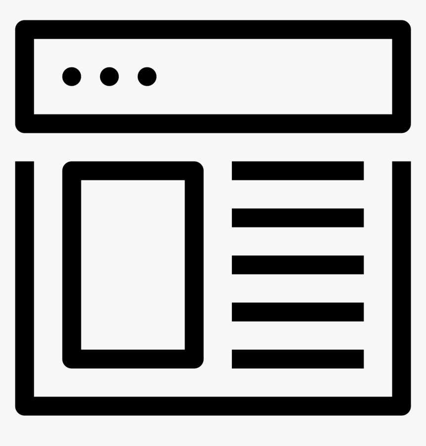 Thumb Image - Png Icon For Web Design, Transparent Png, Free Download