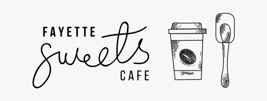 Fayette Sweets Cafe Black - Calligraphy, HD Png Download, Free Download