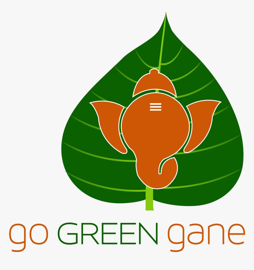 Go Green Ganesha Clipart , Png Download - Transparent Eco Friendly Ganpati, Png Download, Free Download