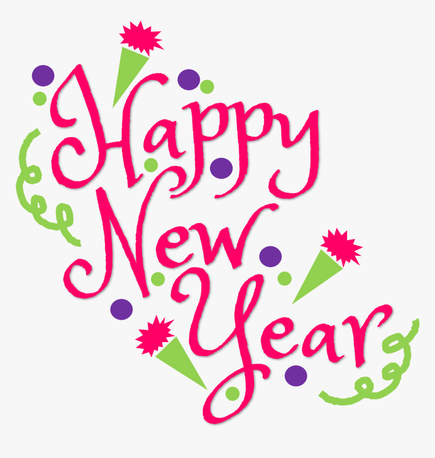 Happy New Year Clipart Sign Happy New Year Png Transparent Png Kindpng