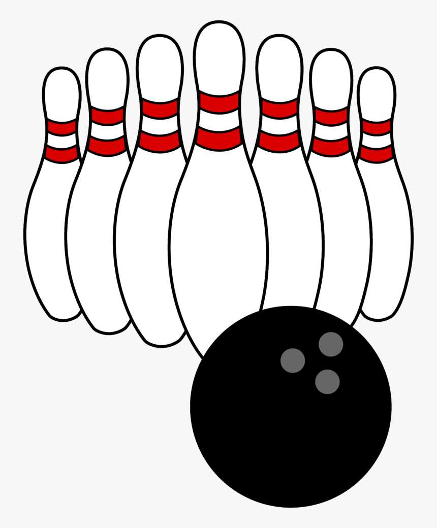 Bowling Clipart Free Download Clip Art On - Clip Art Bowling Pins, HD Png Download, Free Download