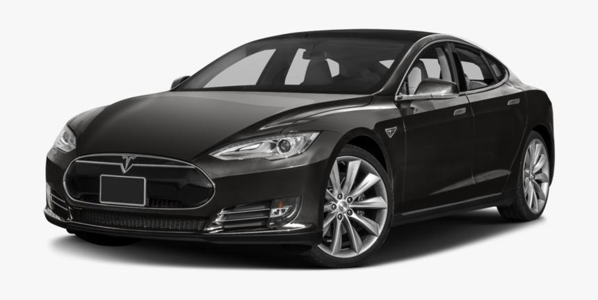 Car Background Tesla Transparent - 2015 Tesla Model S, HD Png Download, Free Download
