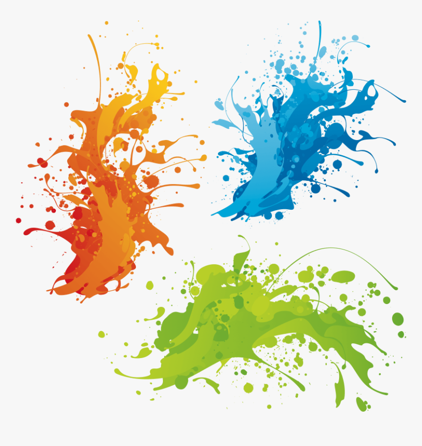 Color Splash Png File, Transparent Png, Free Download