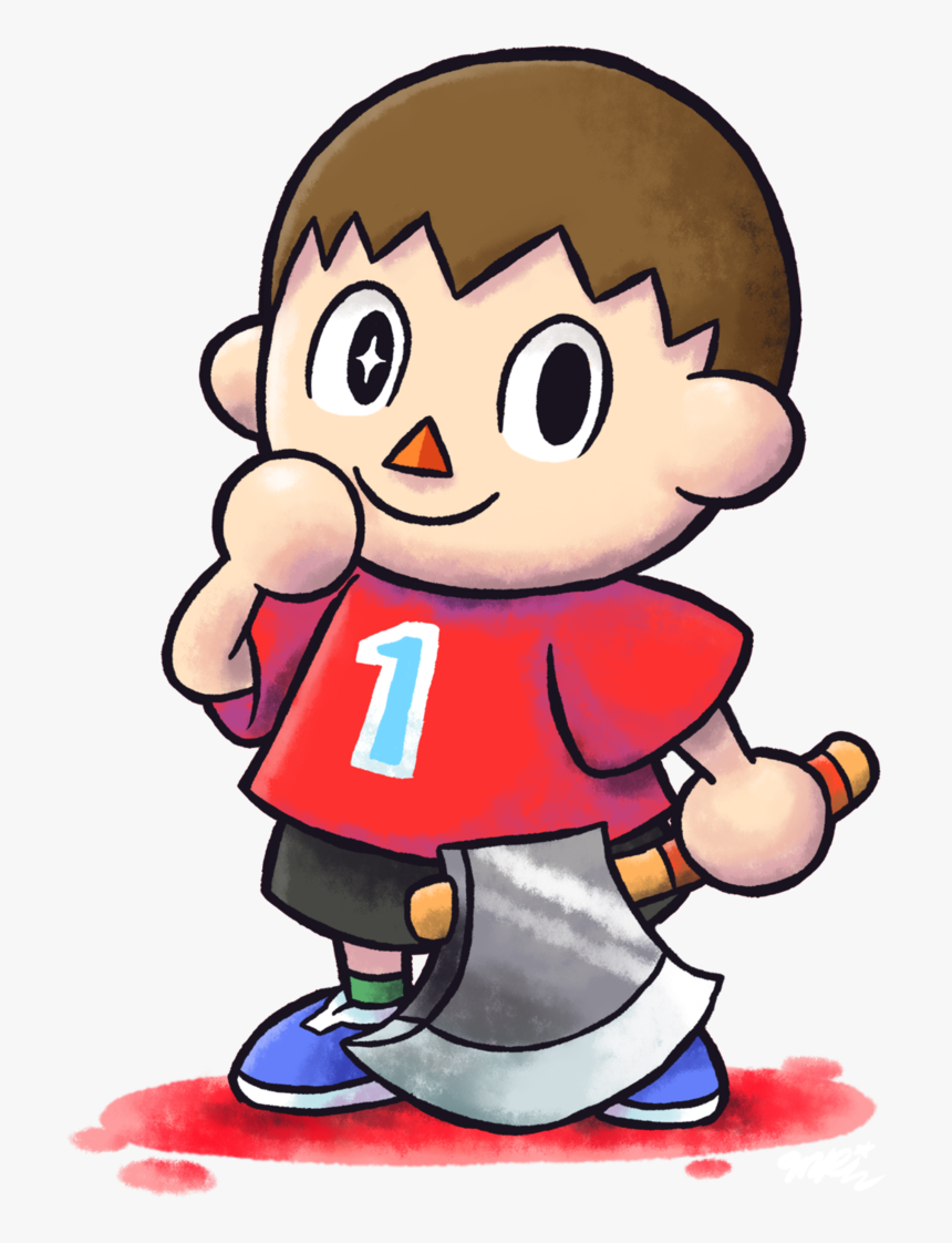 King Clipart Villager - Mario And Luigi Rpg Style Super Smash Bros, HD Png Download, Free Download