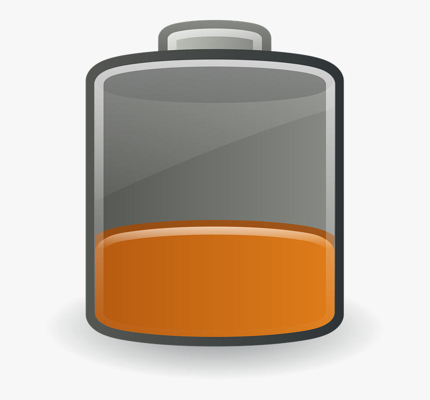 Charging Low Battery Png, Transparent Png, Free Download
