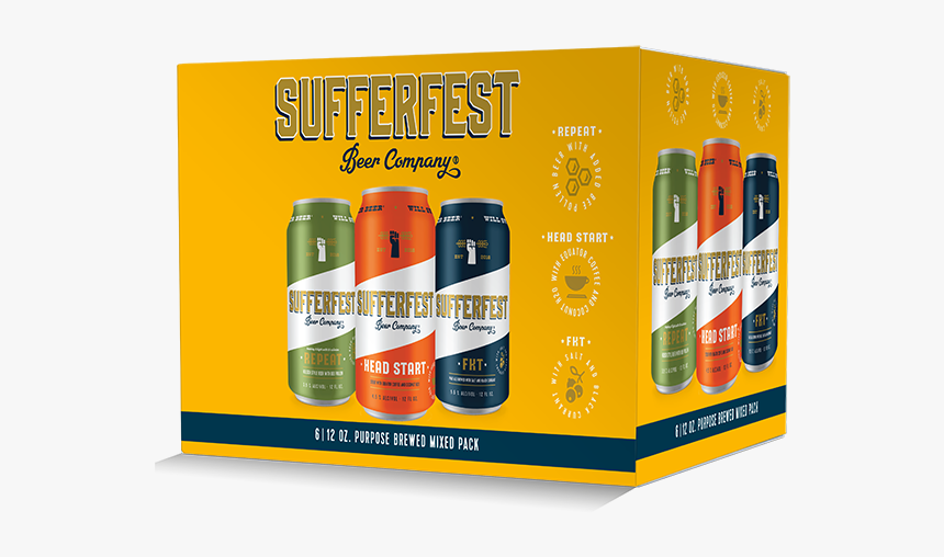Sufferfest Beer Variety Pack, HD Png Download, Free Download