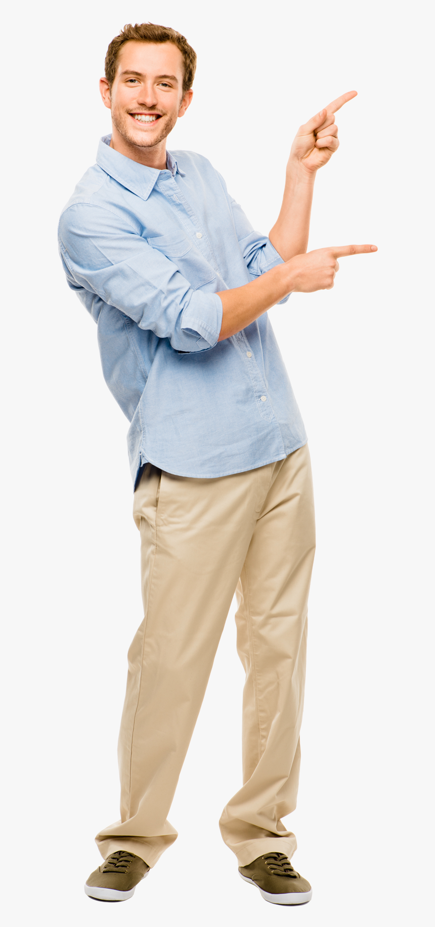People Pointing Png - Roll Up Big Banner, Transparent Png, Free Download