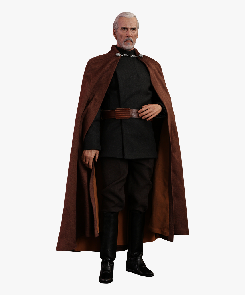 Star Wars Count Dooku Sixth Scale Figure By Hot Toys - Count Dooku, HD Png Download, Free Download