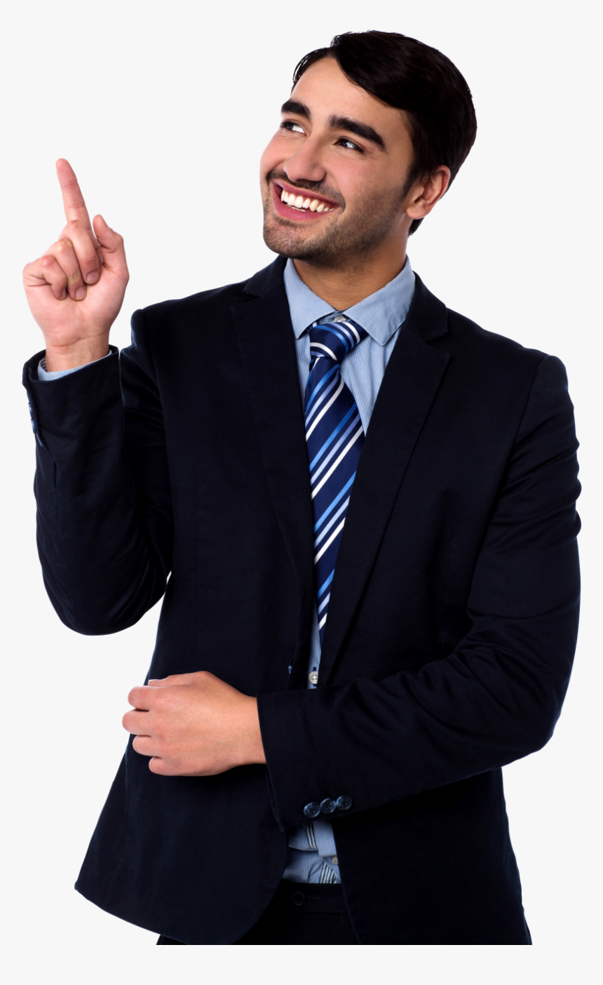 Men Pointing Left Png Image, Transparent Png, Free Download