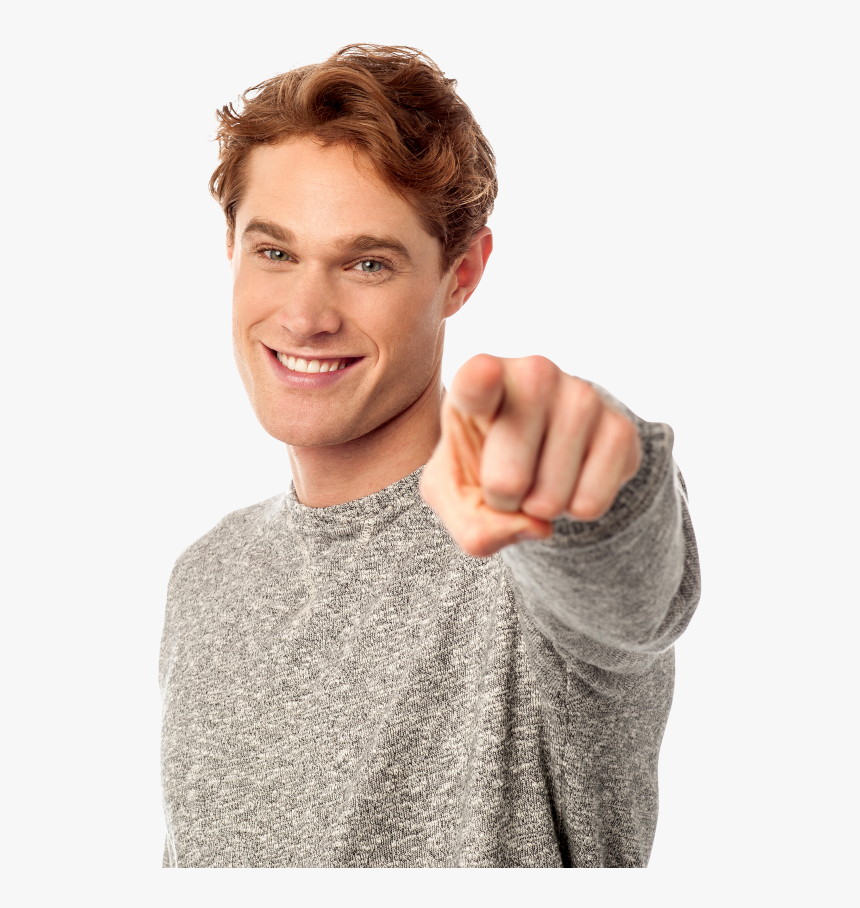 Men Pointing Front Png Image - Man Pointing At You Transparent, Png Download, Free Download