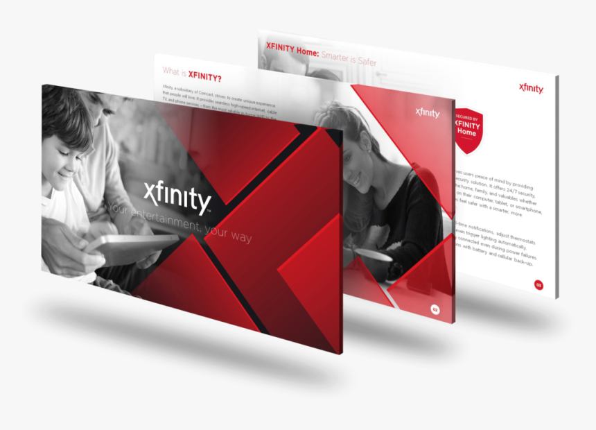 Xfinity Powerpoint Deck - Graphic Design, HD Png Download, Free Download