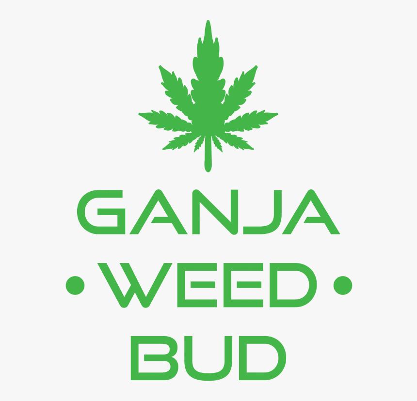 Ganja Weed Bud - Graphic Design, HD Png Download, Free Download